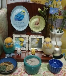 ぴぴちゃん・くぅちゃん祭壇