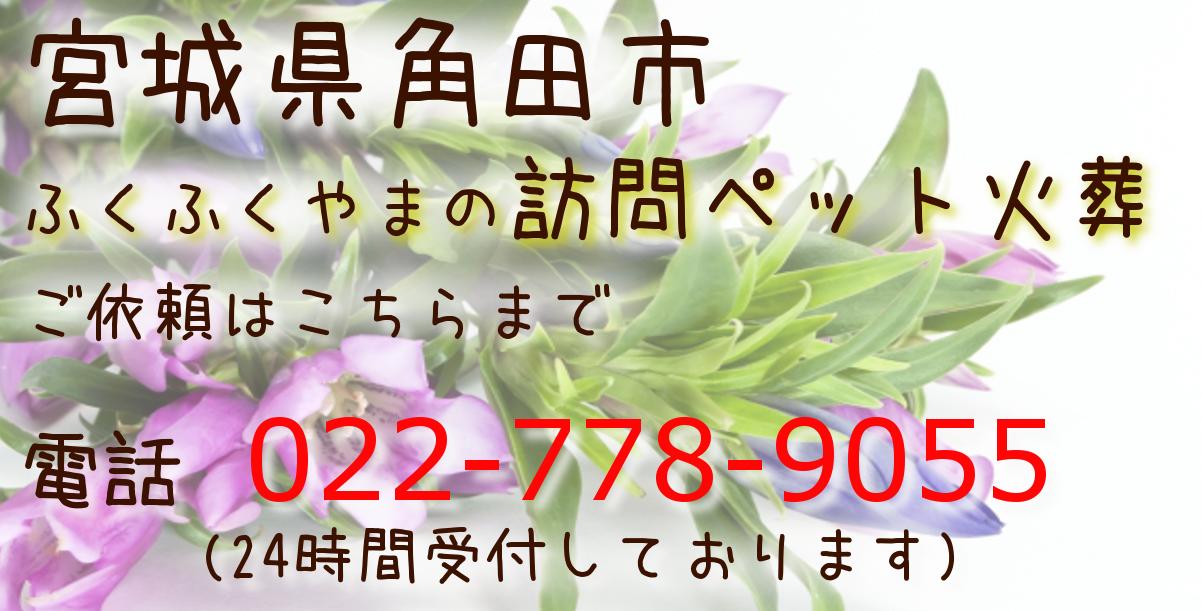 角田市 ペット火葬 ペット葬儀 ペット霊園
