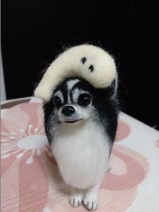 チワワ 犬 羊毛フェルト