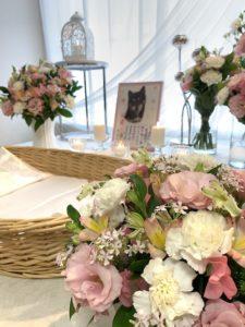 フラワー葬イメージ写真